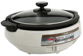 Zojirushi Gourmet D'expert Electric Skillet with Detachable Power Cord
