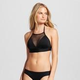 Mossimo Women's Mesh High Neck Halter Bikini Top