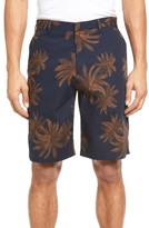 Vince Men's Leaf Print Chino Shorts