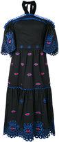 Temperley London Calligraphy off shoulder dress