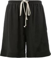 Rick Owens drawstring shorts - women - Silk/Acetate - 40