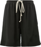 Rick Owens drawstring shorts - women - Silk/Acetate - 44