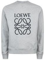 Loewe Embroidered Anagram Sweatshirt