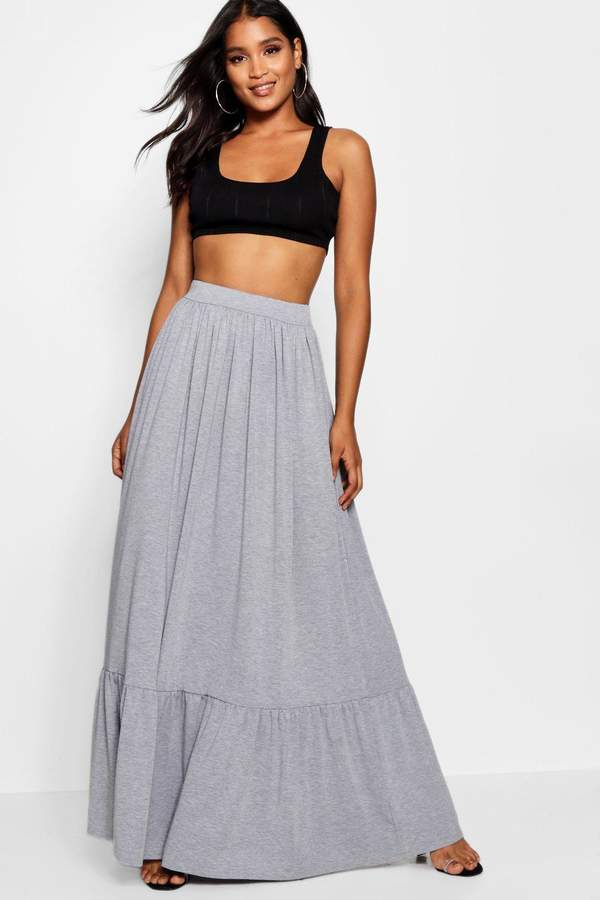 a8c0fb0ef4 Grey Marl Maxi Skirt - ShopStyle UK