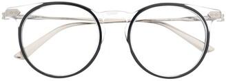 Calvin Klein Round Framed Glasses