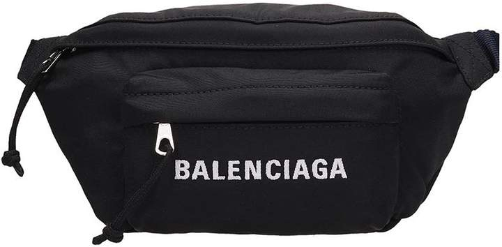 cac8a5011206 Mens Black Fabric Bags - ShopStyle