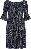 Yumi Floral Crepe Dress