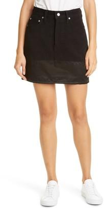 Helmut Lang Femme Utility Mini Skirt