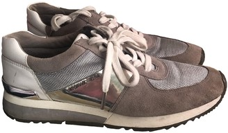 Michael Kors Grey Rubber Trainers