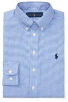 Ralph Lauren Long-Sleeve Dress Shirt White/Blue Multi 8