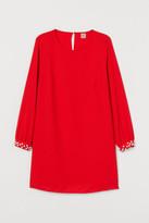 H&M H&M+ Short Dress - Red