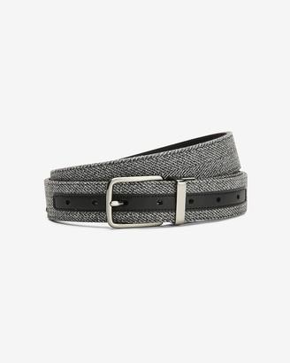 Express Reversible Vegan Leather Belt