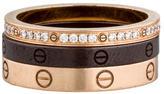 Cartier LOVE Ring Set