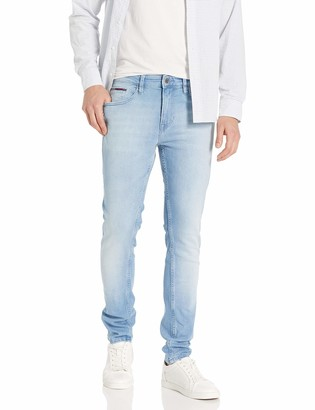 Tommy Hilfiger Tommy Jeans Men's Original Steve Slim Athletic Fit Jeans with Skinny Ankle