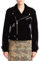 Marc by Marc Jacobs Semona Velvet Biker Jacket