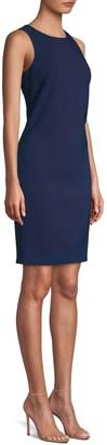 Trina Turk Clemente Smoothie Back Bow Sheath Dress
