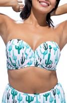 Plus Size Women's Gabifresh Milestone Convertible Bikini Top