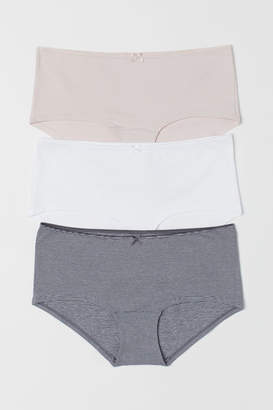 H&M 3-pack cotton shortie briefs