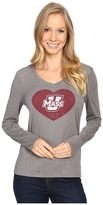 Life is Good Heart Long Sleeve Tee