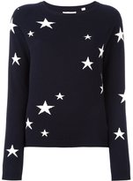 Chinti and Parker cashmere star intarsia sweater - women - Cashmere - L