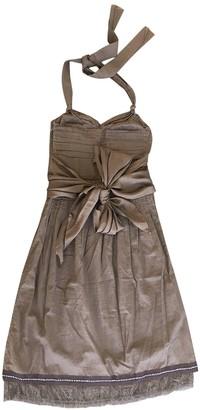Schumacher Brown Silk Dress for Women