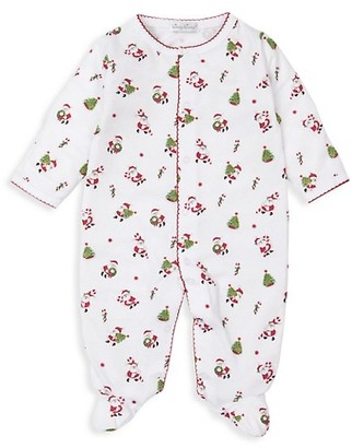 Kissy Kissy Baby's Here Comes Santa Claus Footie