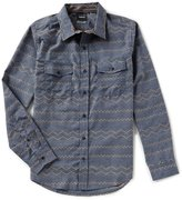 Hurley Pismo Dri-FIT Long-Sleeve Twill Flannel Shirt