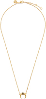 Accessorize Delta Horn Pendant Necklace
