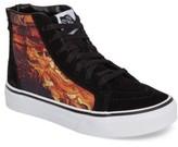 Vans Boy's Sk8-Hi Dragon Zip Sneaker