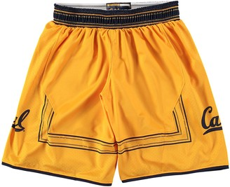 Youth Under Armour Gold Cal Bears Replica Basketball Performance Shorts