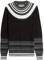 Neil Barrett Pullover with Contrast Stripes
