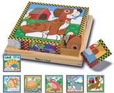 Melissa & Doug Pets Wood Cube Puzzle