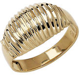 Lord & Taylor 14Kt. Yellow Gold Ribbed Dome Ring