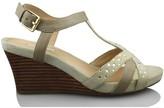 Geox Wedge Sandal BEIGE