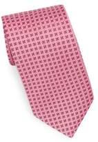 Eton Pink Neat Medallion Tie