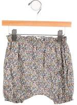 Makie Girls' Floral Print Harem Pants