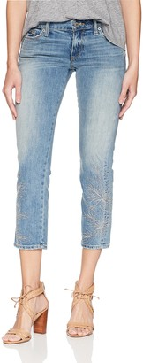 Lucky Brand Women's MID Rise Sweet Crop Jean in Candelaria 26