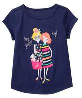 Gymboree Hey Girl Tee