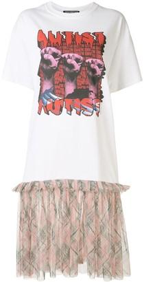 Tata Christiane Autist flared T-shirt dress
