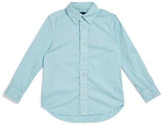 Ralph Lauren Kids Twill Long-Sleeved Shirt (2-4 Years)