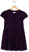 Burberry Girls' Geometric Print Short Sleeve Dress