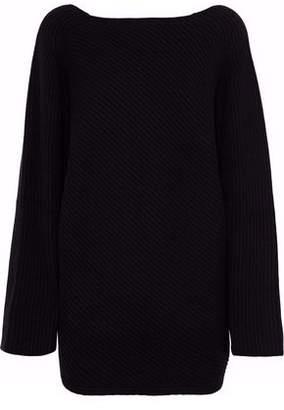 Derek Lam Asymmetric Ribbed Cashmere Sweater