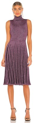 Milly Pleated Midi Dress