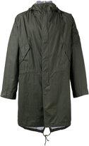 Universal Works hooded parka - men - Cotton - M