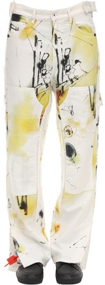 Off-White Futura Abstract Carpenter Denim Jeans