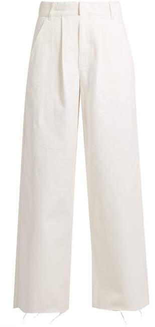 Raey Wide Leg Jeans - Womens - White