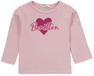 Benetton Heart T Shirt