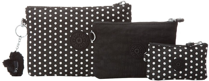 Kipling IF-Iaka Pouch (White Dot) - Bags and Luggage