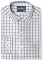 Buttoned Down Amazon Brand Men's Classic Fit Plaid Dress Shirt Supima Cotton Non-Iron