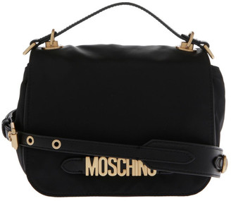 Moschino Logo Flap Over Crossbody